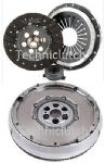 DUAL MASS FLYWHEEL DMF & COMPLETE CLUTCH KIT PEUGEOT PARTNER 1.6HDI 90 240MM